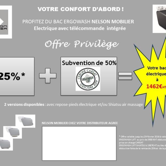 Promotion bac ERGOWASH subventionné CARSAT