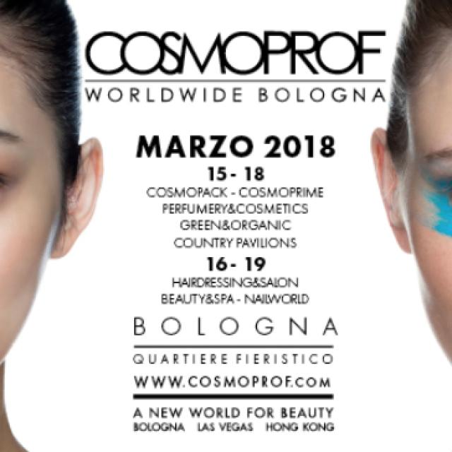 FERIA COSMOPROF BOLOGNA 2018