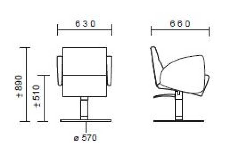Formula Chair Structure Details