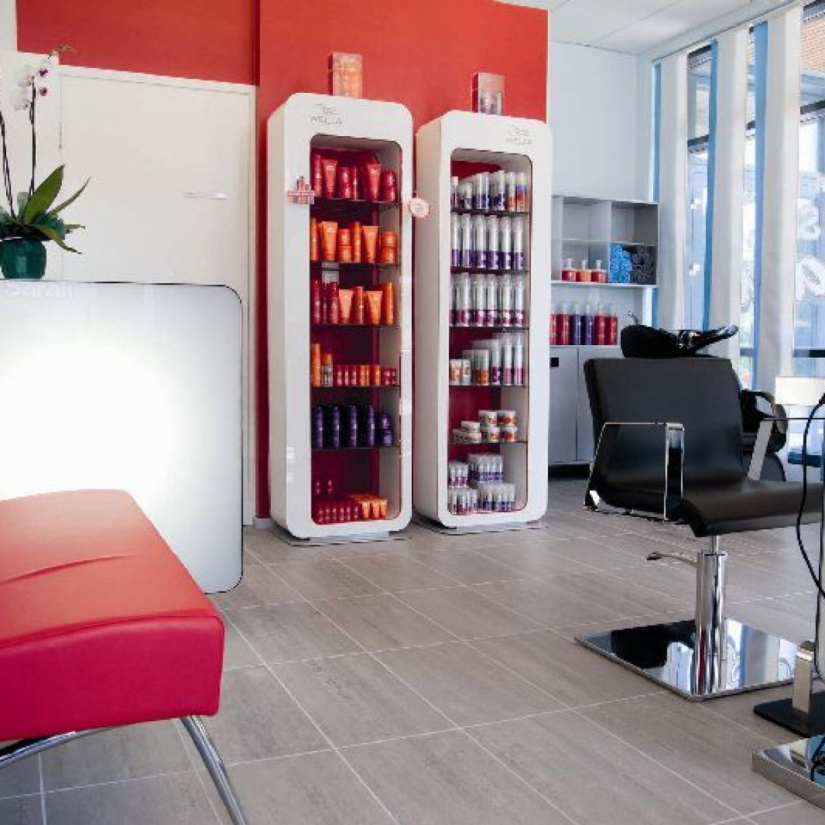Nelson mobilier fabricant mobilier de coiffure made in for Meuble coiffure