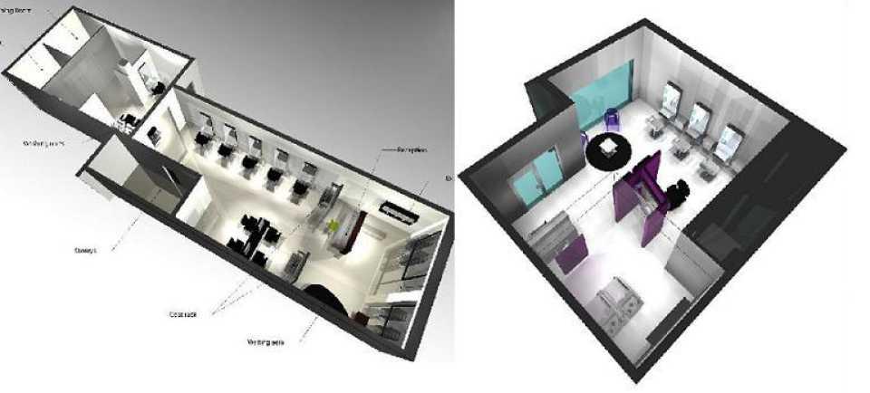 Nelson mobilier fabricant mobilier de coiffure made in france agencement de salons de - Agencement d un salon de coiffure ...
