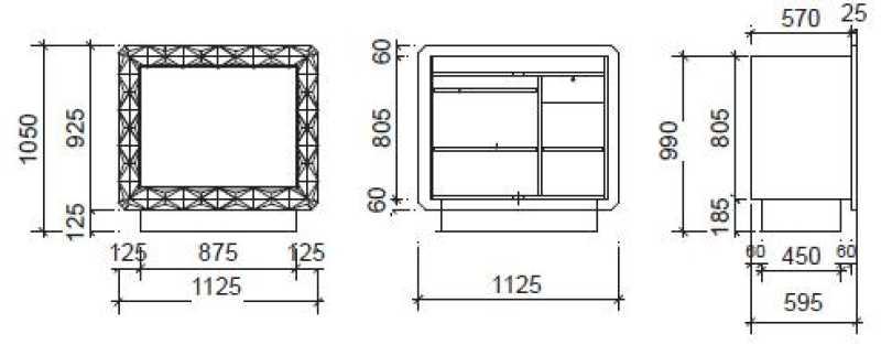 Diamant Blanc Medium Structure Details