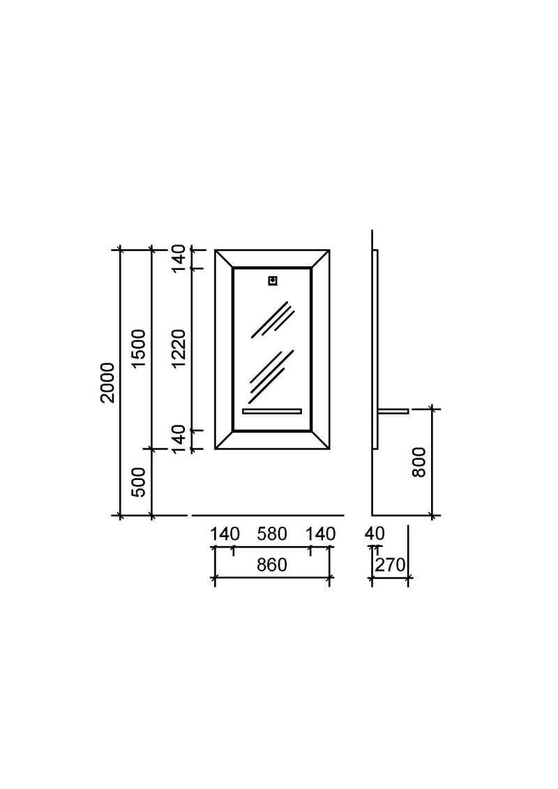 Silver Cut Structure Details