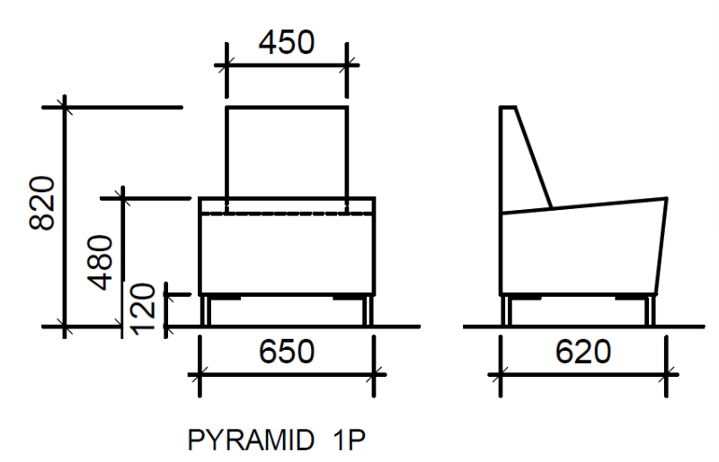 Pyramid 1P Structure Details