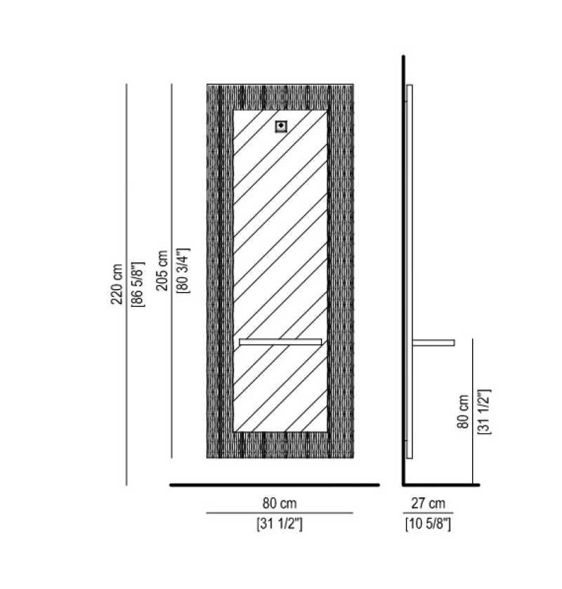 Fluctus Blanc/ Noir/ Silver Structure Details