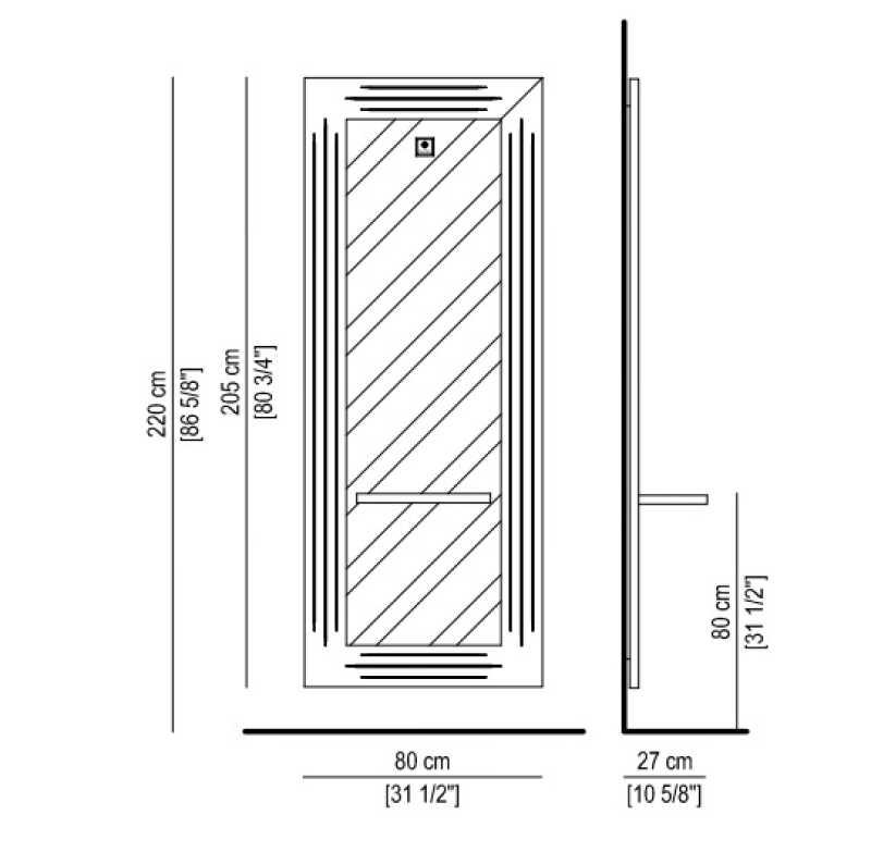 Imperium Blanc Mat/ Noir Mat Structure Details