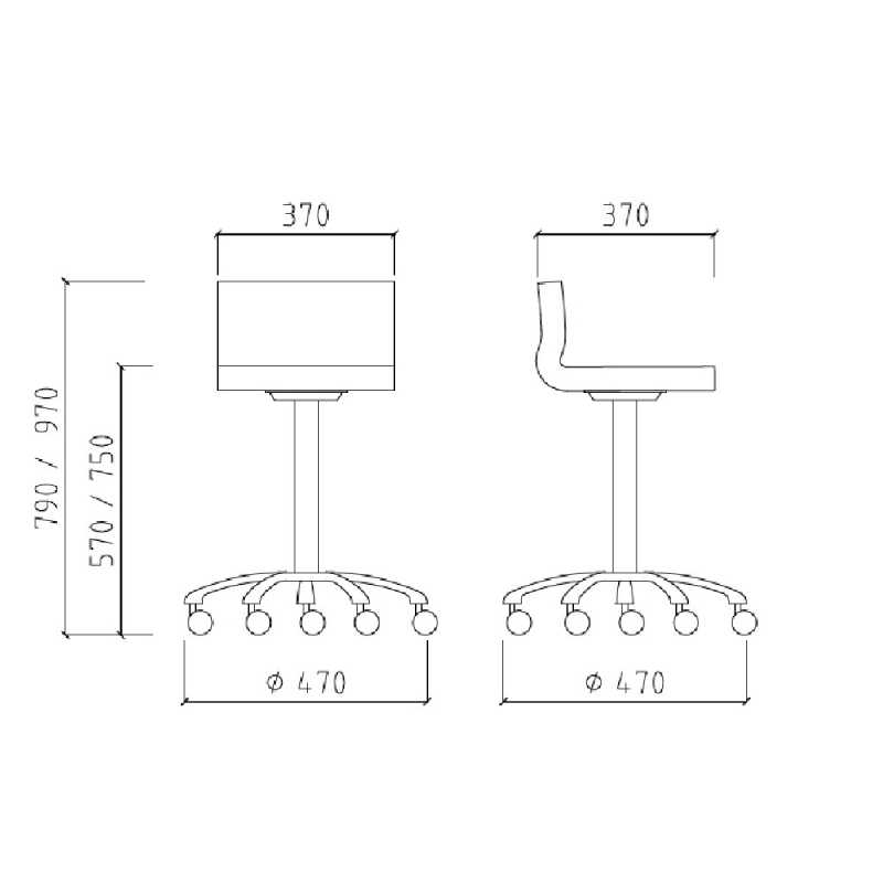 Iron Stool Structure Details