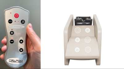 Massage remote control - how does it work?